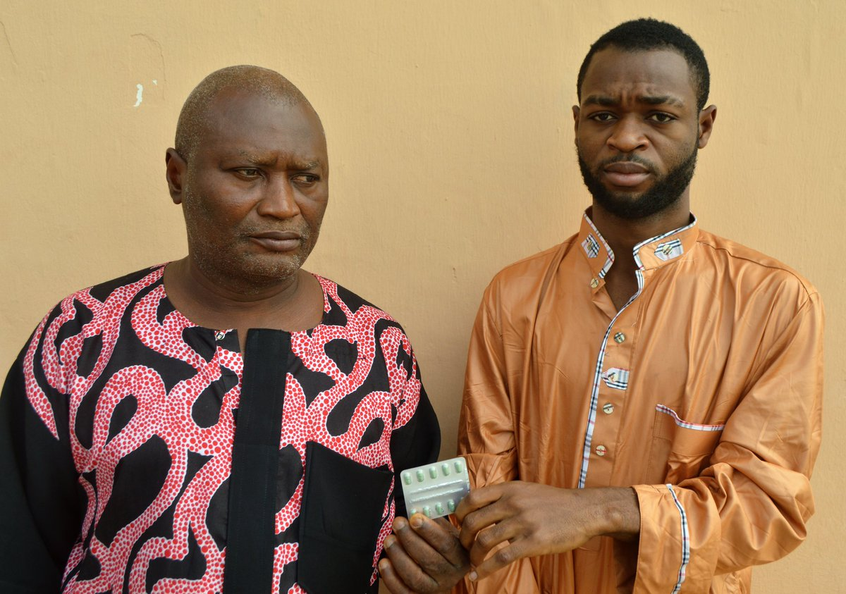 EFCC Foils Man's Attempt to Smuggle in Hard Drug for Detained Son  The EFCC has arrested a 60-year-old fish-farmer, Muyiwa Otuyalo, for attempting to smuggle in substance believed to be hard drug for his son, Damilola Otuyalo.<br>http://pic.twitter.com/t7hmaURuLt