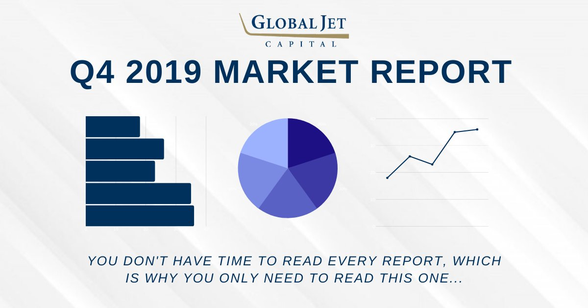 Download our Q4 2019 Market Report for exclusive insight on economic conditions, transaction activities, residual values, sustainability, and more here: hubs.ly/H0mZHK50. #bizav #businessaviation #aviation