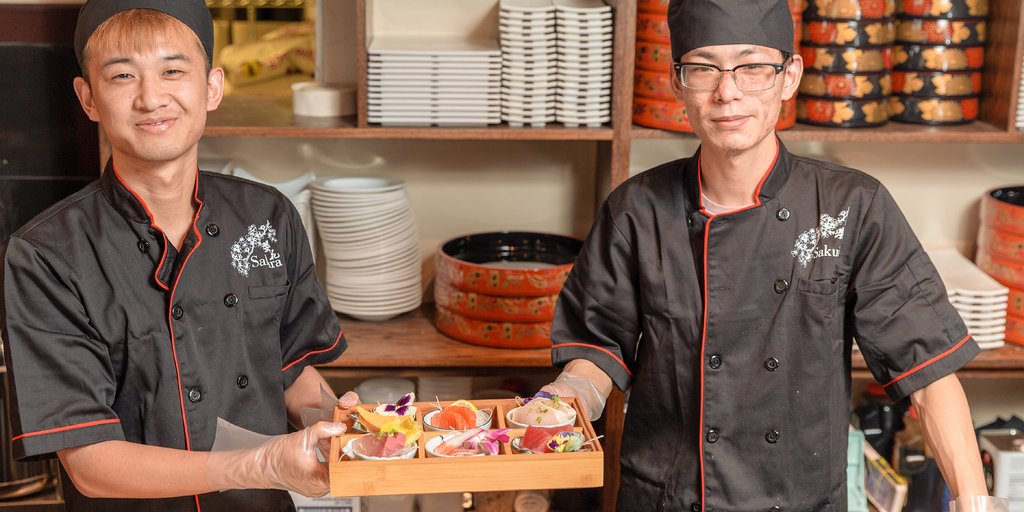 Is #sushi calling? Local #LosLunas gem Sakura Japanese Hibachi Grill & Sushi Restaurant is the answer! Whether you grab a bento box for lunch or stop in for date night, you'll be glad you did.