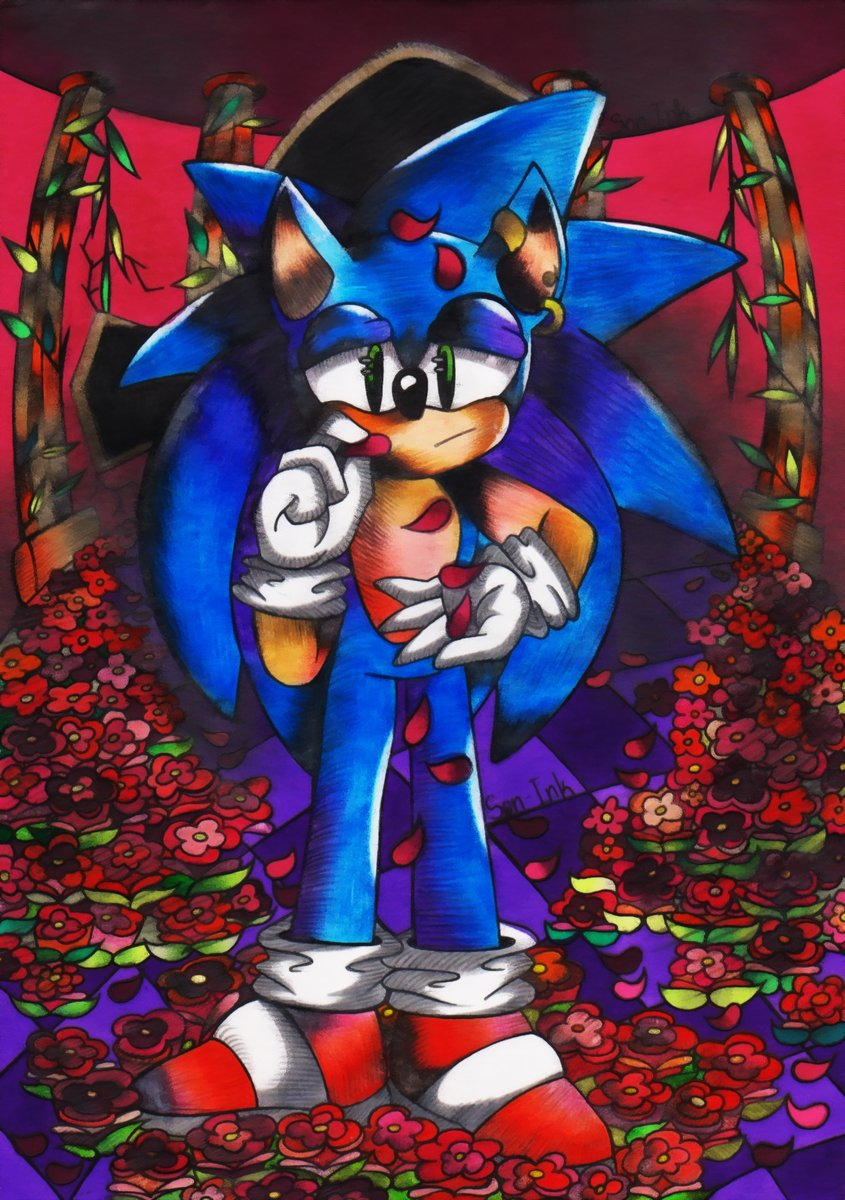 I hope everyone were happy at Valentine's Day! But I was not. So here's some sad art for you. #ValentinesDay #ValentinesWithNobody #ValentinesDay2020 #sonic #SonicTheMovie #SonictheHedgehog #sonicfanart #SonicMovie2