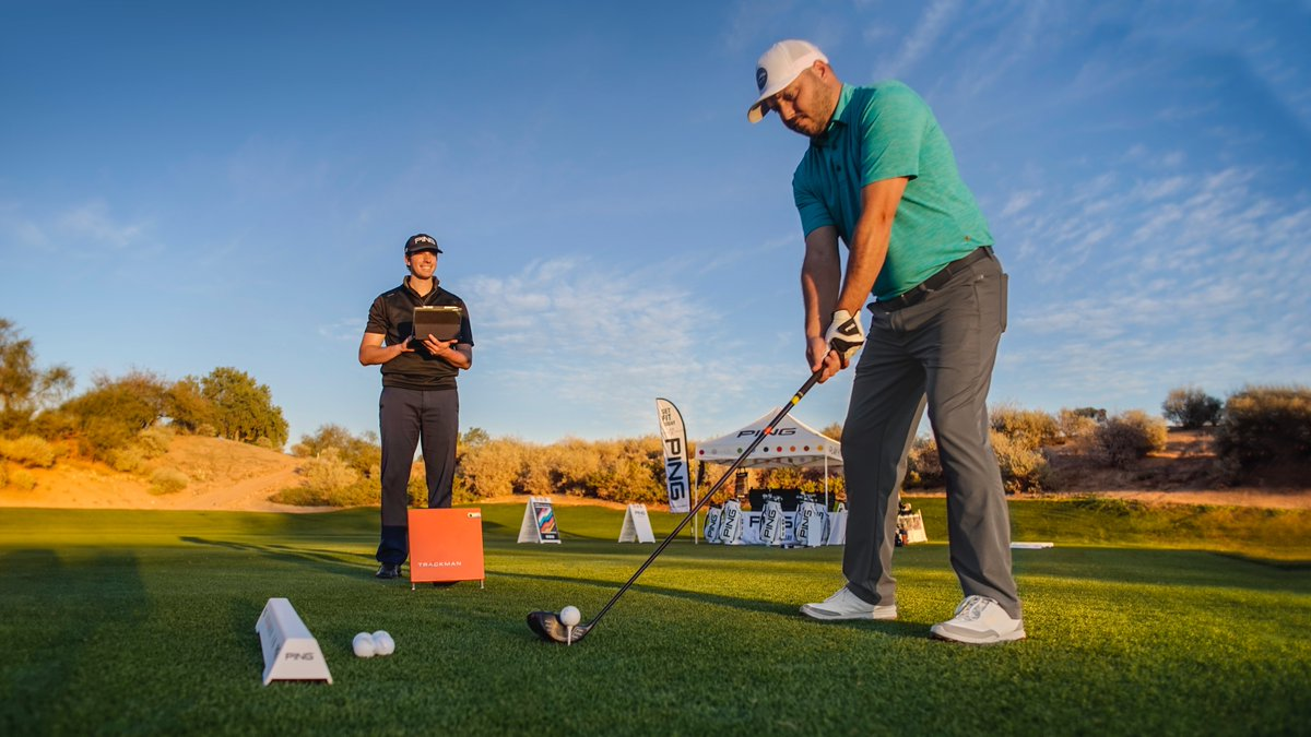 Continuous improvement. ✔️ 100% of our PING field representatives, Fitting Specialists and Proving Grounds Master Fitters are @TrackManGolf Level II certified. 💪 #FittingMatters