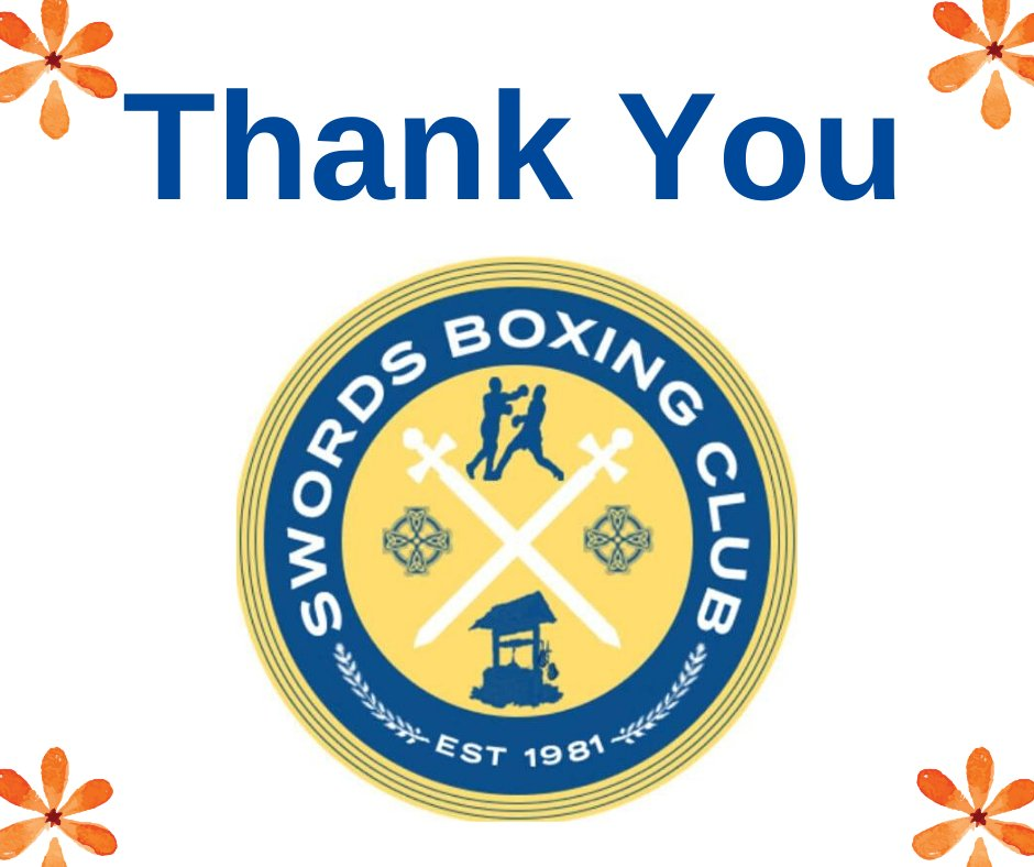 The sincerest of thanks to Swords Boxing Club especially Garry Fay, Karen O Callaghan and Nicky O Callaghan who presented the Hardford family with the Baby JJ Harford Memorial Cup, which will be presented to a young boxer at the end of 2020 at the Swords Boxing Club BBQ show.