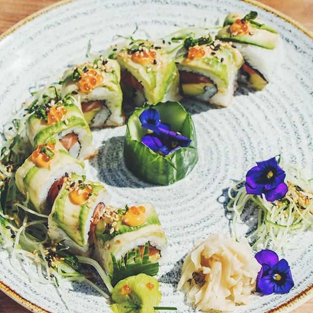 Love and sushi are a lot alike. You can never have too much of either. Enjoy world-class sushi at @thebayhotel!  #capetown #campsbay #ocean #view #sushi #capetownsummer