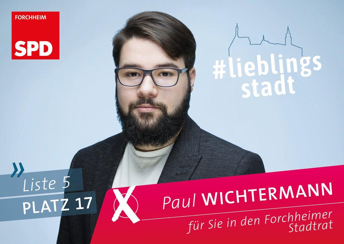 Paul Wichtermann, Platz 17, Liste 5  Vorsitzender der Jusos Forchheim @jusosfo AWO Aikido-Verein Forchheim  Paul ist Student der Geschichtswissenschaft und der Archäologie.  #lieblingsstadt #lieblingsstadtforchheim #lieblingsoberbürgermeister #liste5 #kommunalwahl2020 pic.twitter.com/9GLoT7u02B