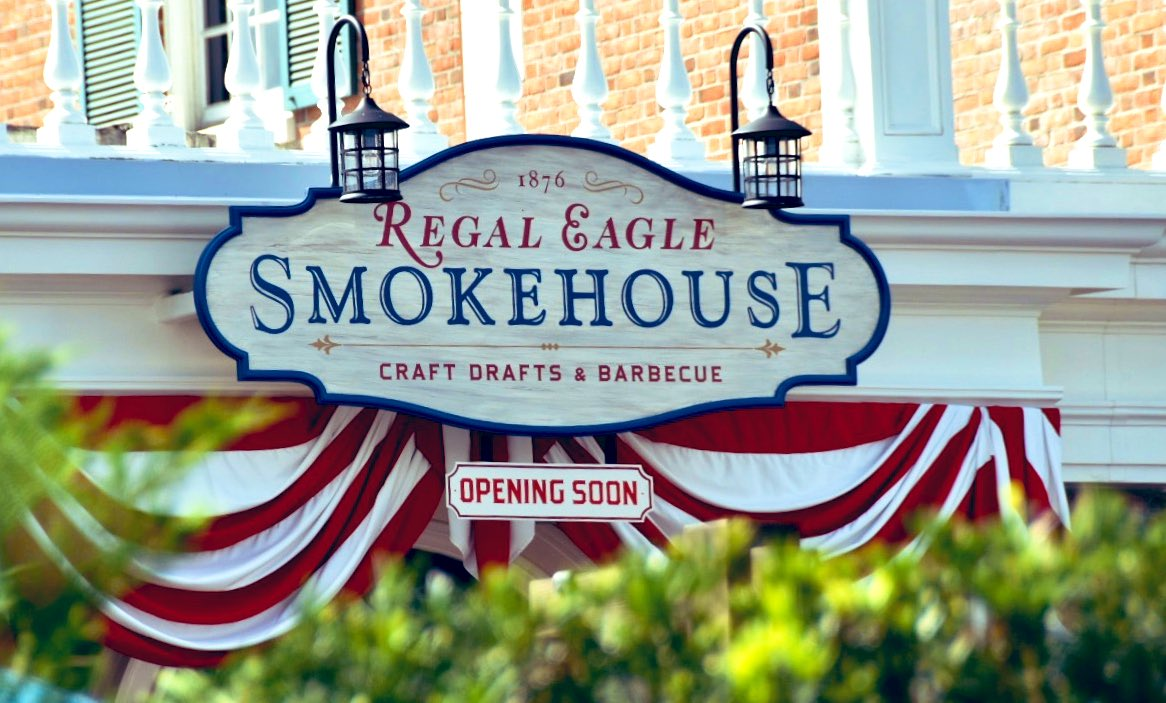 Soon but not yet. #RegalEagle #epcot