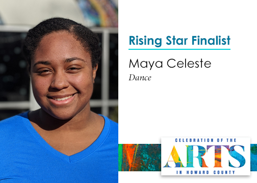 Time to meet our #RisingStars finalists, who will compete for a $5K prize at the #Celebration of the Arts on 3/28. 1st up is Maya Celeste, Dance. Get your tix today at https://hocoarts.org/celebration & get ready to Celebrate! https://www.facebook.com/HoCoArts/photos/a.121867011402/10156531309761403/?type=3&theater… #hocomd #hocoarts