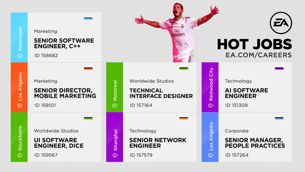 Check out these great jobs at EA!  #WeAreEA