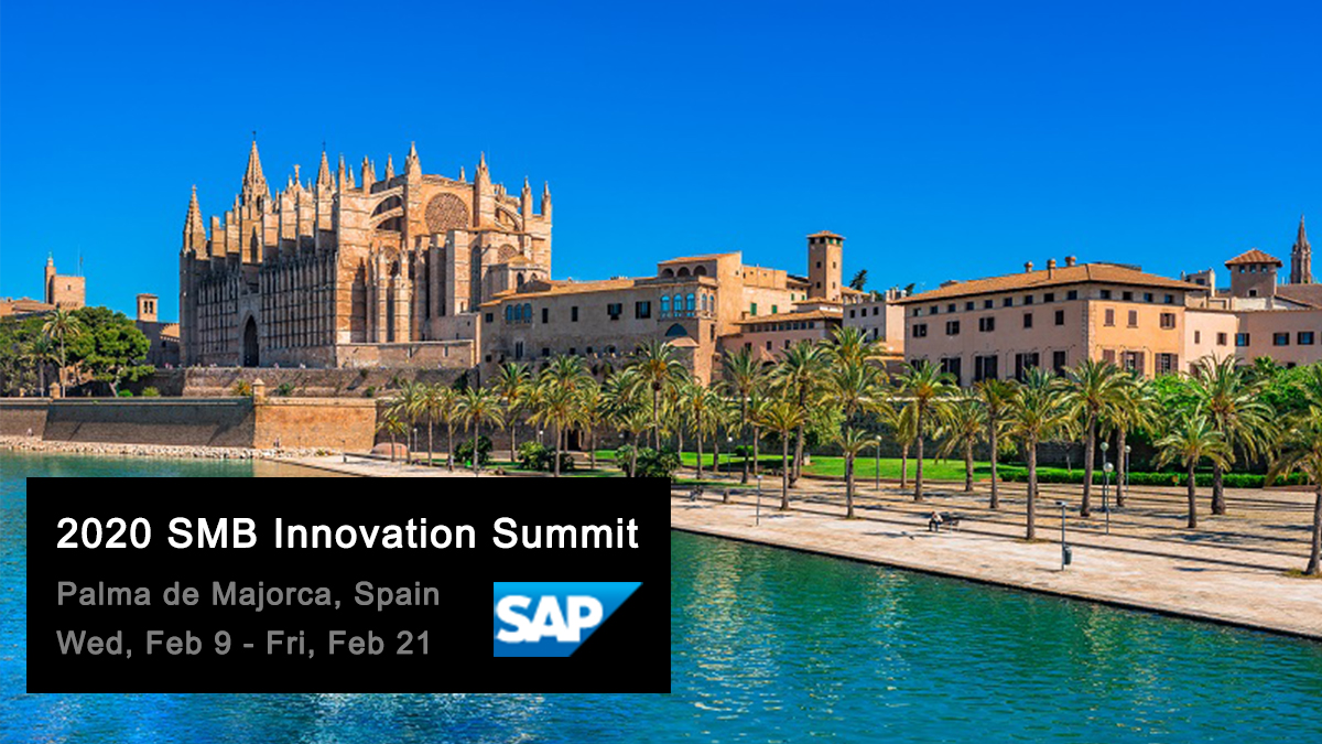 Let's meet at #SMBSummit2020 in Spain from February 19 – 21.  We would like to invite you for conversation about Versago — the leading portal and automation platform for SAP Business One. Schedule a 1:1 meeting:  http:// ow.ly/8QJu50ynWtw     <br>http://pic.twitter.com/Ln2X07CKDs
