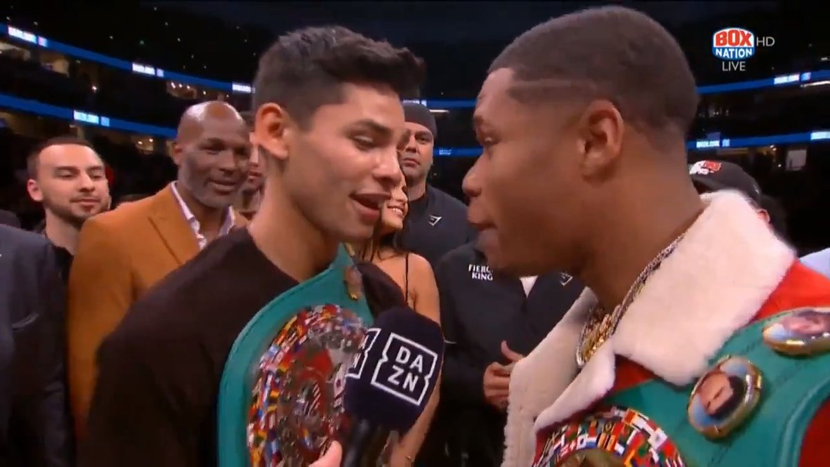 Garcia v Haney in late 2020? 🤞  This would be a mouth-watering clash between two young, unbeaten Lightweights 🔥  @KingRyanG | #GarciaFonseca