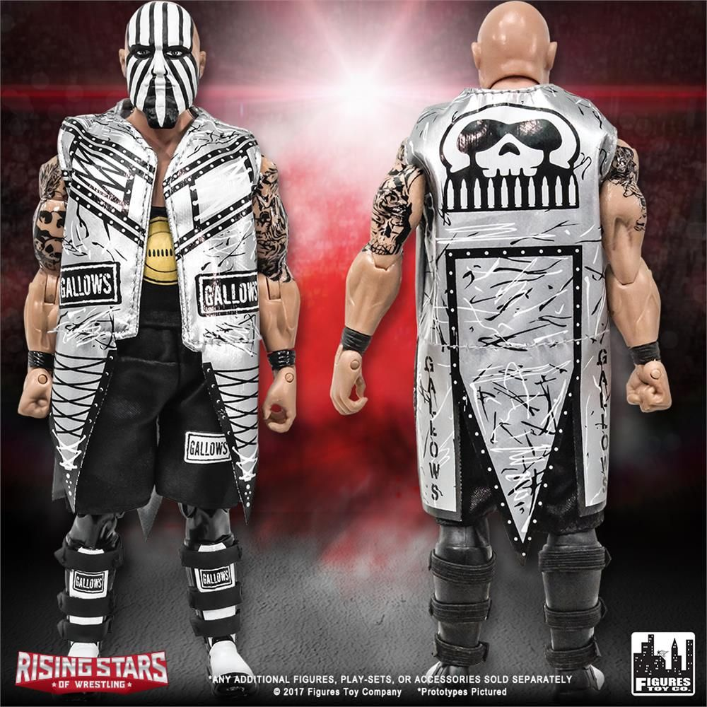 Before The OC was trying to take over Monday nights, @LukeGallowsWWE laid waste to opponents in the Land of the Rising Sun! #NJPW #BulletClub Edition #DocGallows figures are available from our #RisingStars series! #ftctoys #figlife @FullyPoseable https://buff.ly/2Img6TM