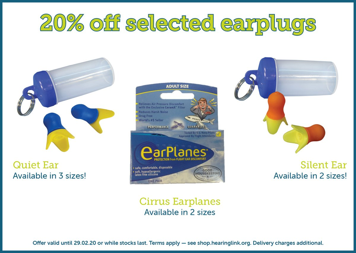 February offer! 20% off selected #earplugs from our range. Visit our website:  http:// ow.ly/gG8I50yp6O6     <br>http://pic.twitter.com/txto4RBuJF