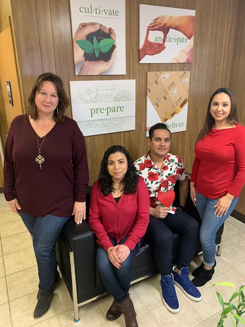 Always striving for effectiveness and efficiency, #TeamExcargo combined #WearRedDay2020 (Friday 2-7-2020) with #ValentinesDay2020 (2-14-2020).   #AmericanHeartAssociation #HeartAwarenessMonth #WearRedDay