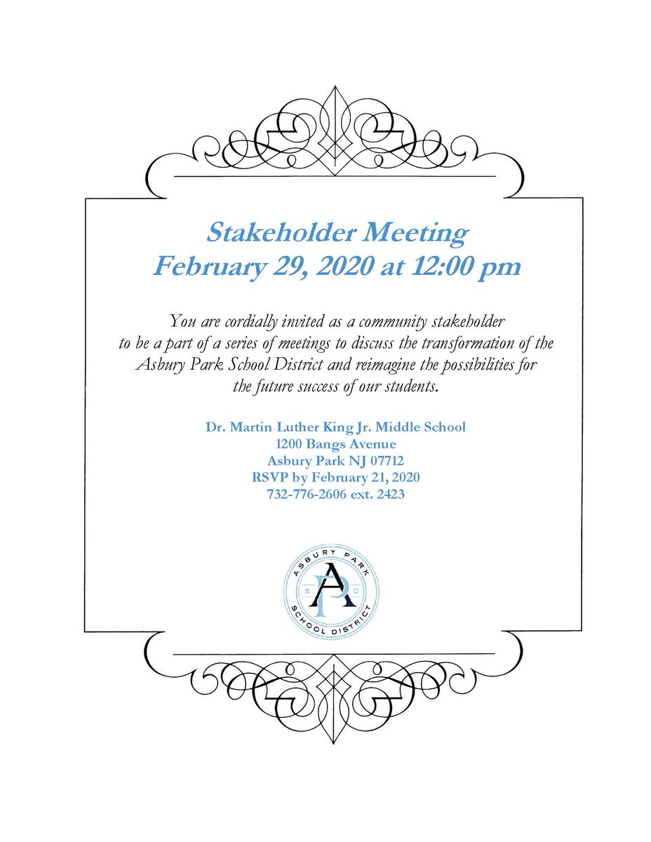 Save the date and join us for this important meeting! @APSuperGray @APDirCI_ERuiz