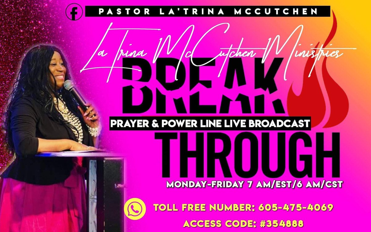 Fire! Fire! Fire! Your Breakthrough Is Right Now! Welcome to the Breakthrough Prayer & Power Line Live Broadcast International! Playback:605.475.4988 Access Code:354888 Reference#557 *We thank our Special Guest J.Renea Morris so very much for joining us on Breakthrough!* <br>http://pic.twitter.com/nHPEQrLcj2
