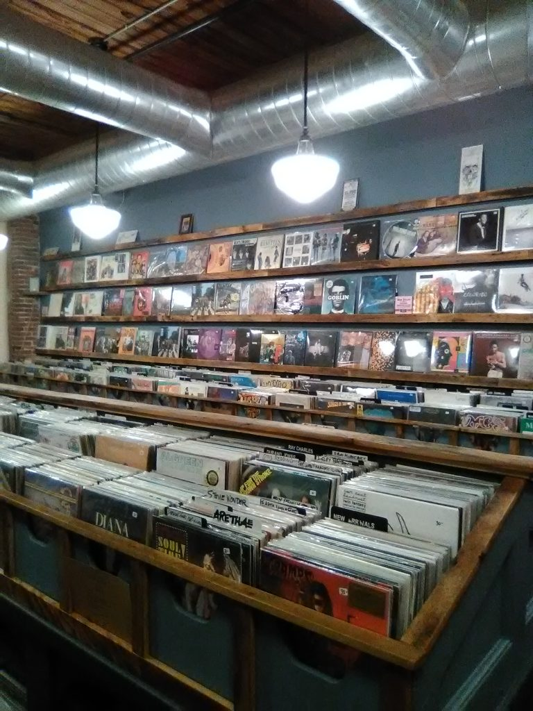 Watching #HighFidelity on #Hulu? We discuss the book, movie and, yes, the new series with real-life record store owner Dave Perry of Vinyl Destination in our latest #interview:  #HighFidelityHulu #ZoëKravitz #NowWatching #MustSee #vinyl #records #music