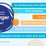 Image for the Tweet beginning: Hoy es el #DíaInternacionaldelSíndromedeAsperger. El #Asperger