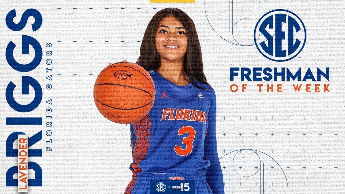 #SECWBB Freshman of the Week: @lavbriggs Details » bit.ly/2uVbcHJ