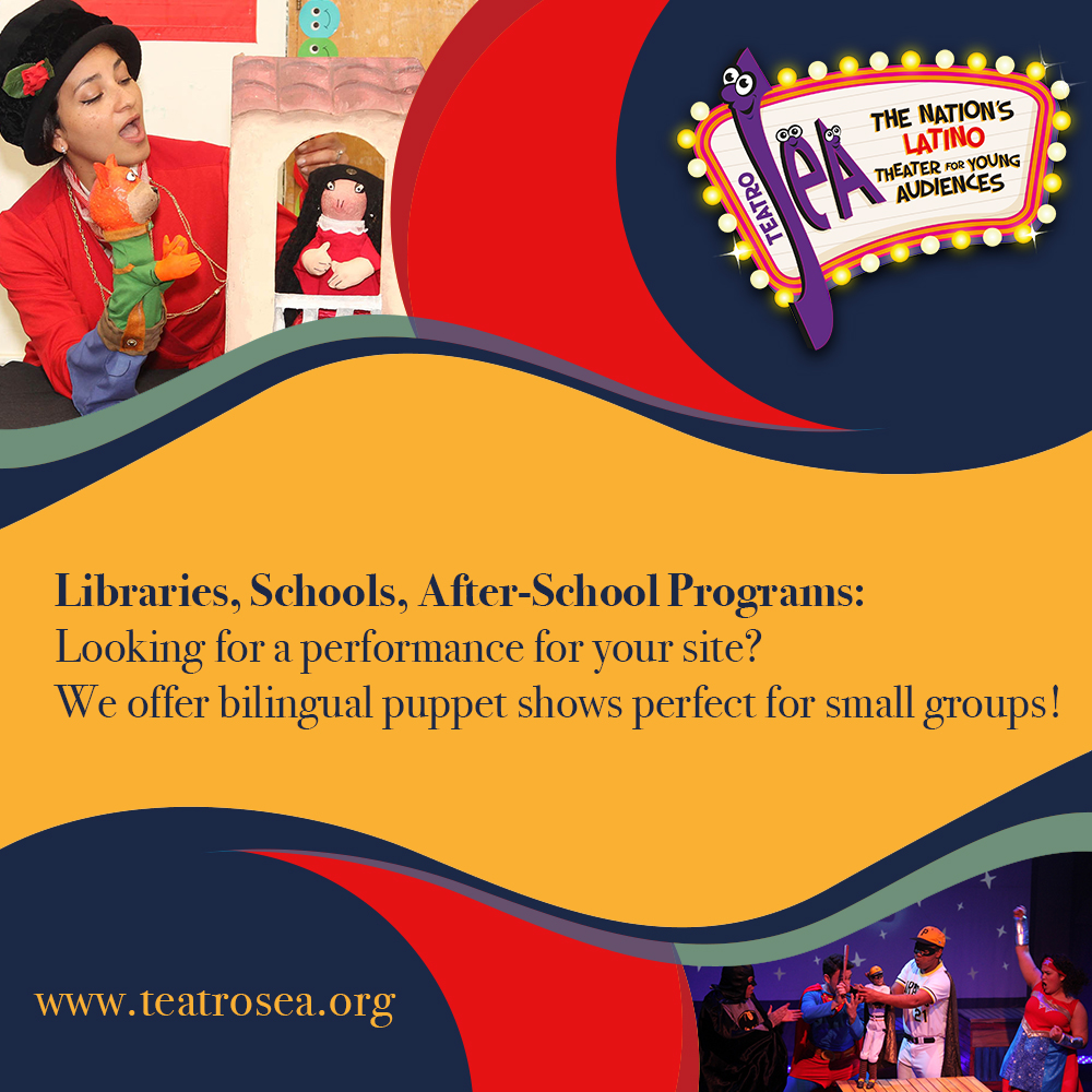 Need original and entertaining multicultural programming for your library?! Book one of our puppet shows for an awesome time!!  For more information visit us at   #TeatroSEA #LibrariesNYC #Puppets #Kids #Family #NYC