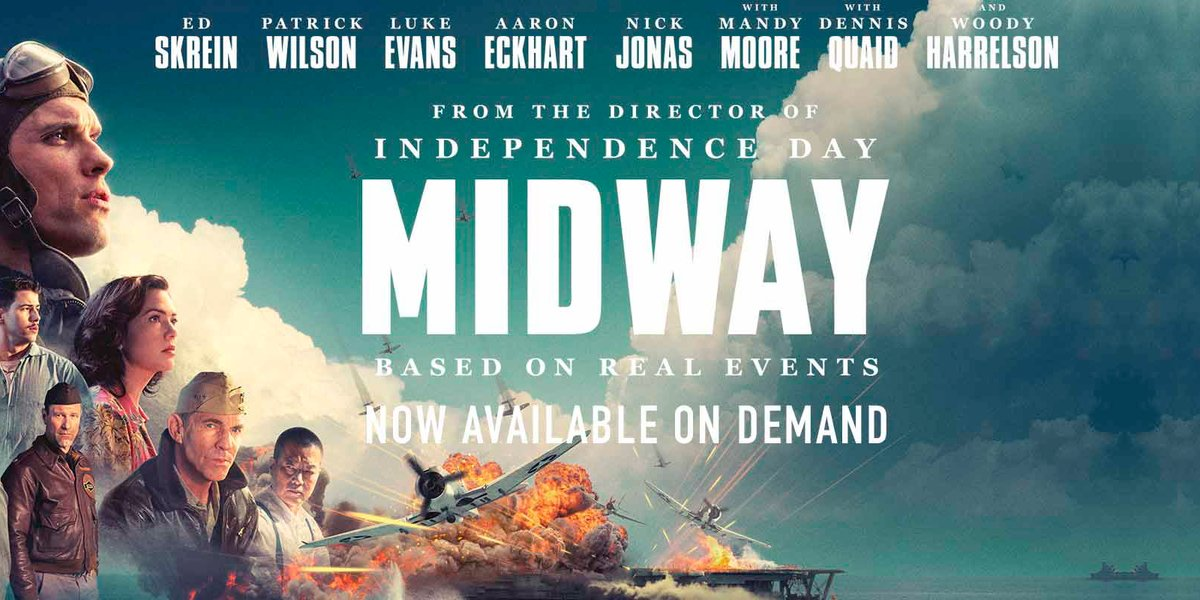#Midway is now out on #VOD! #Vubiquity #AmdocsMedia pic.twitter.com/g1CGqzpatc