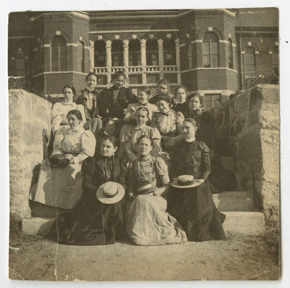#OTD 1891, the State Normal and Industrial School, now @UNCG was chartered. Originally a school for female teachers, it joined the UNC system in 1932 and was known as the leading college for women throughout the early and mid-1900s.<br>http://pic.twitter.com/VJAI7E4Xf6