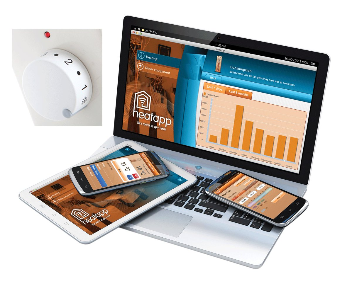 Our Heatapp lets your customers view their energy consumption and spend in any room they choose – great for being green and great for keeping an eye on costs: http://bit.ly/37ZlQer #energysavings #heatingpic.twitter.com/ixKGkiGFPl