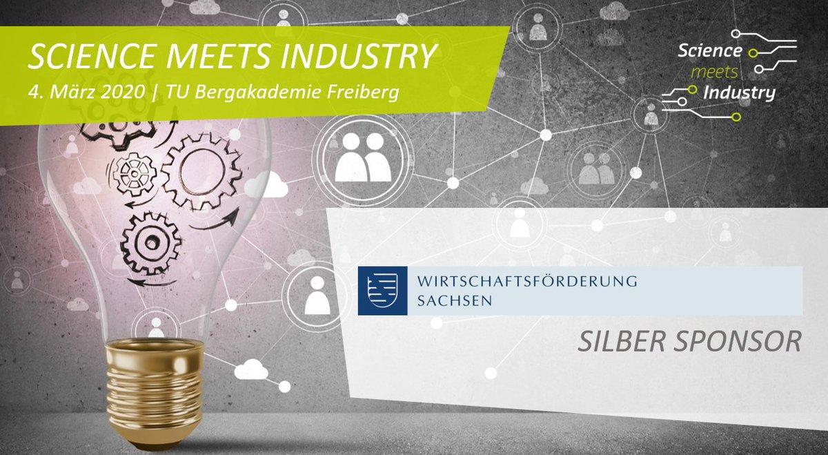"""Wir freuen uns, dass die Wirtschaftsförderung Sachsen unser diesjähriges """"Science meets Industry""""Event als Silber Sponsor unterstützt. Vielen Dank!  Werden auch Sie Sponsor: Hier geht es zu unseren Sponsor Paketen https://www.silicon-saxony.de/fileadmin/user_upload/Events/2020/Science_meets_Industry/Sponsoringunterlagen_SmI_2020.pdf…  #sogehtsächsisch #innovationstransferpic.twitter.com/ClwadAHdiC"""