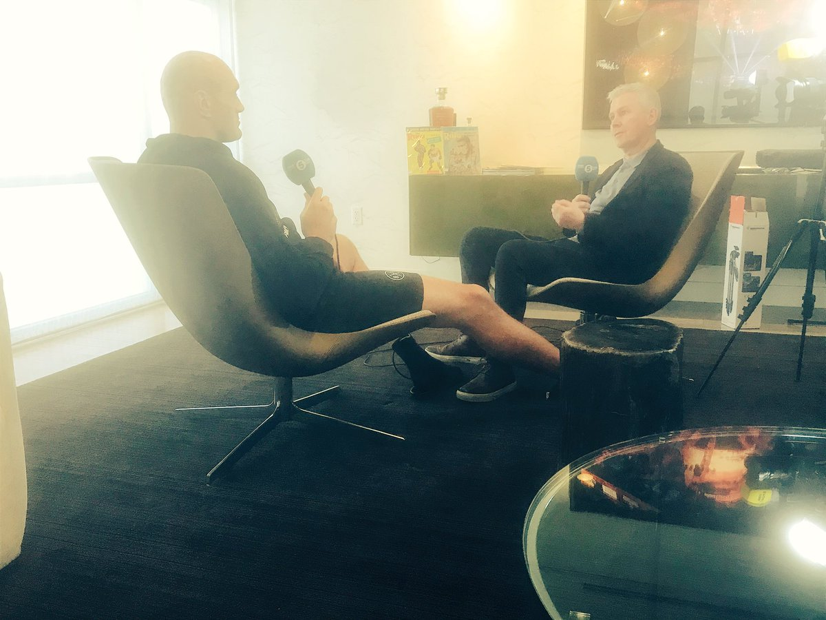 Bullies, judges and a unique mention of an AK47. We sat down with Tyson Fury yesterday. Wilder to come later. For now, here's latest from fightweek: http://www.bbc.co.uk/sport/boxing/51542181… #Wilderfury #boxing