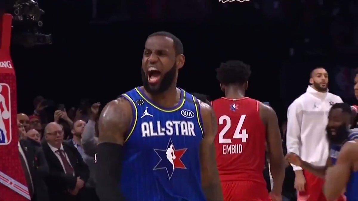 #NBAAllStar weekend recapped in 60 seconds 🍿 (via @MCamerlengo)