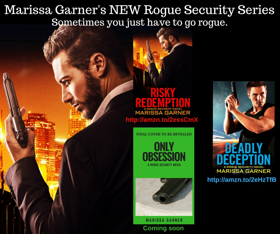 Sometimes you just have to go rogue Read theAWARD-WINNING Rogue Security series Sexy, thrilling & different RISKY REDEMPTION, DEADLY DECEPTION & ONLY OBSESSION http://amazon.com/author/marissagarner …  #romance #suspense #amreading #books #ebooks #GreatReads #TuesdayThoughts #RomanceBookspic.twitter.com/PF8J8H1pXt