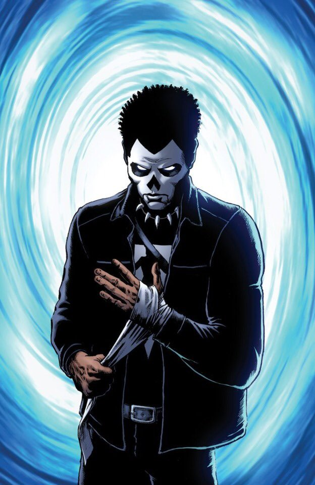 #ComicExchangeProgram If Shadowman (from Valiant Comics) was a Marvel or DC hero, what hero would he get along with the most? #SHPOLL20 pic.twitter.com/SMmfzItuFl