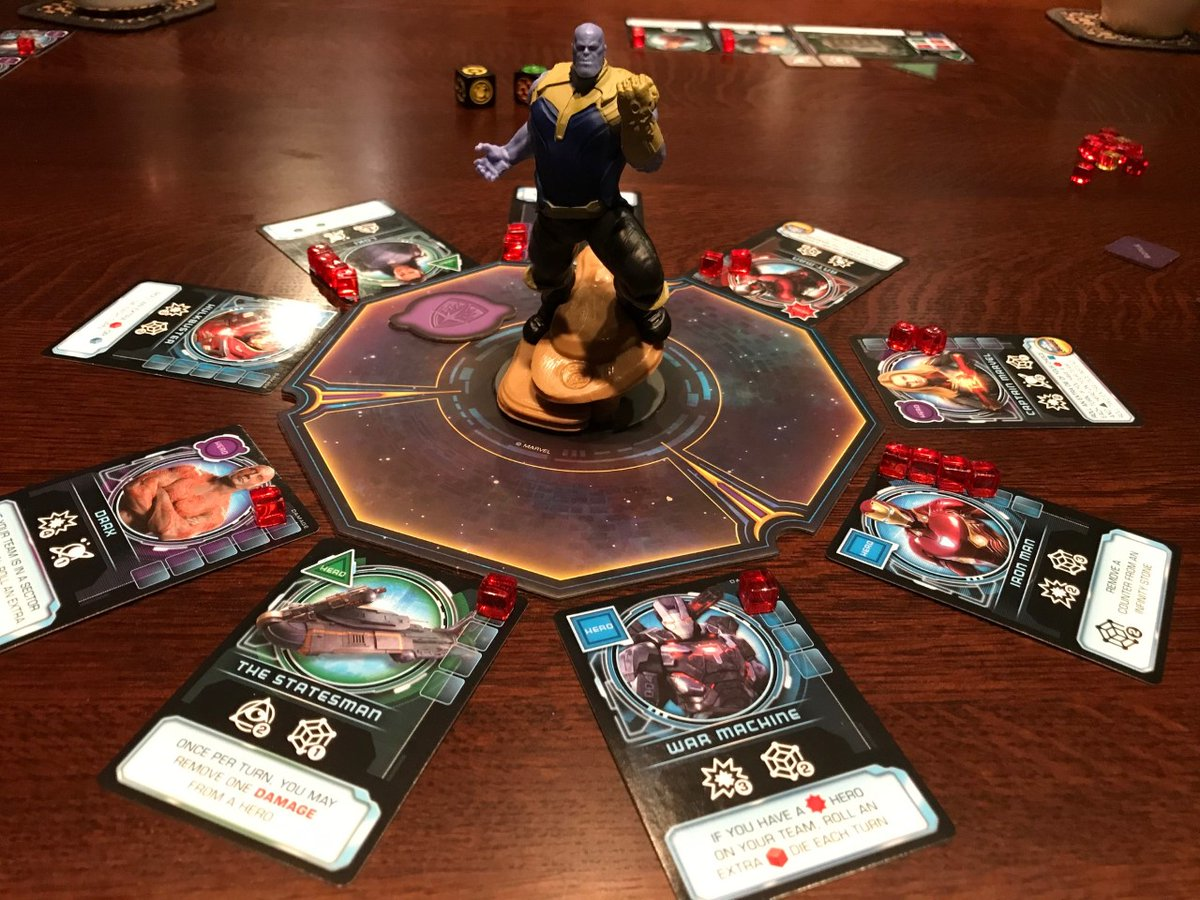 Another fun Thanos Rising session w our granddaughter...her favorite game.  @TheOpGames #familygames #boardgames #coopgames @Marvelpic.twitter.com/P4aAwpj55m