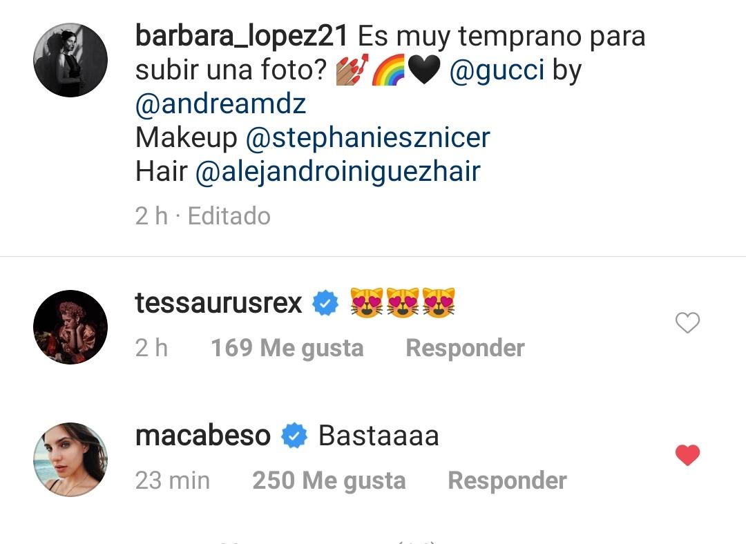 "Que ""bastaaaaa"" porque ya se distrajo de su work work work xd  #BarbaraLopez #MacarenaAchaga pic.twitter.com/trfgkmV1Hb"