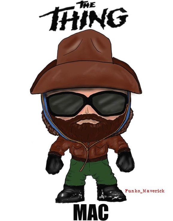 Funko Maverick did R.J. MacReady wearing his infamous hat. Concept Funko Pop art by (@funko_maverick)  . . . #outpost31 #thething #thething1982 #johncarpentersthething #johncarpenter #kurtrussell #rjmacready #cultfilm #cultclassic #funko #funkopoppic.twitter.com/2x1vcLJrrt