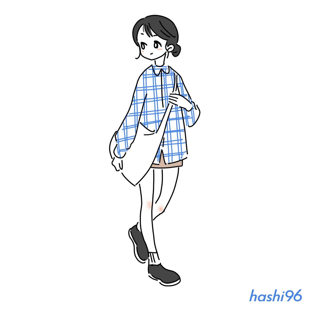 #illustration #fashion #drawings #artwork #hashi96 #イラスト #女の子 #イラスト練習