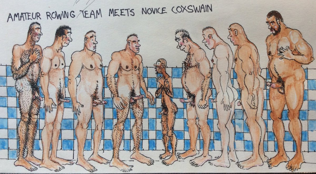 SPORTS  Amateur rowing team meets novice coxswain  #gaynudes #queernudes #gaysports #queersports #gayrowing #queerrowing #gaycoxswain #queercoxswain #gayteam #queerteampic.twitter.com/N37i8GSX7Z