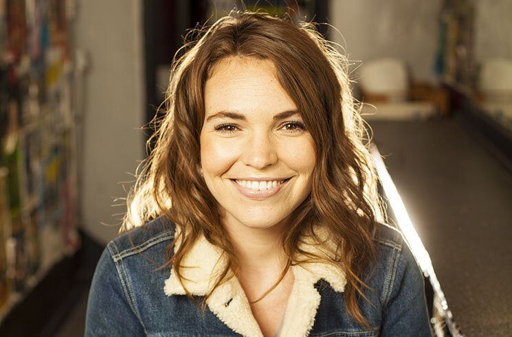 """""""I didn't really want to bother my friends. So, I just bother their mothers; they have more time on their hands.""""  We spoke to @BethStelling about her new podcast #WeCalledYourMom:"""