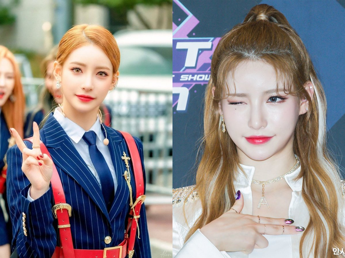 Rookie idol ANS's Bian stuns netizens with her gorgeous doll-like visuals https://t.co/7CdzhcLSQ6 https://t.co/WFhy4CE3JL