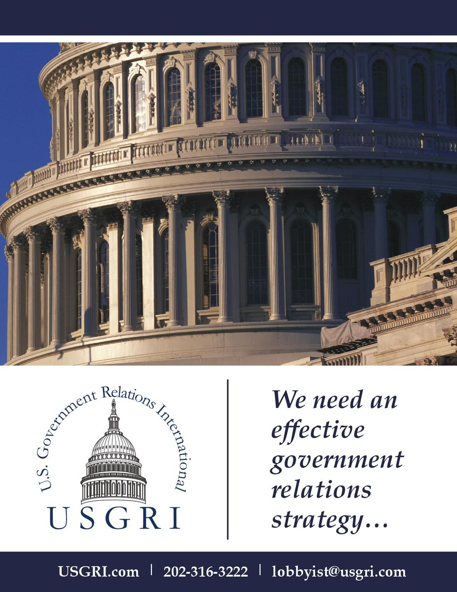 USGRI U.S. Government Relations, Lobbying, and Public Affairs http://www.linkedin.com/company/usgripic.twitter.com/76VWyCPQEY