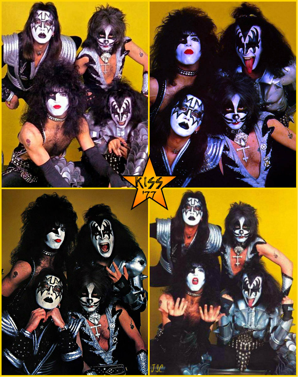 On this day in #KISStory 1977 Music Life Magazine Photo Session Madison Square Garden New York City, February 18, 1977 Photographer Ken Regan <br>http://pic.twitter.com/aIXYW9eDEZ