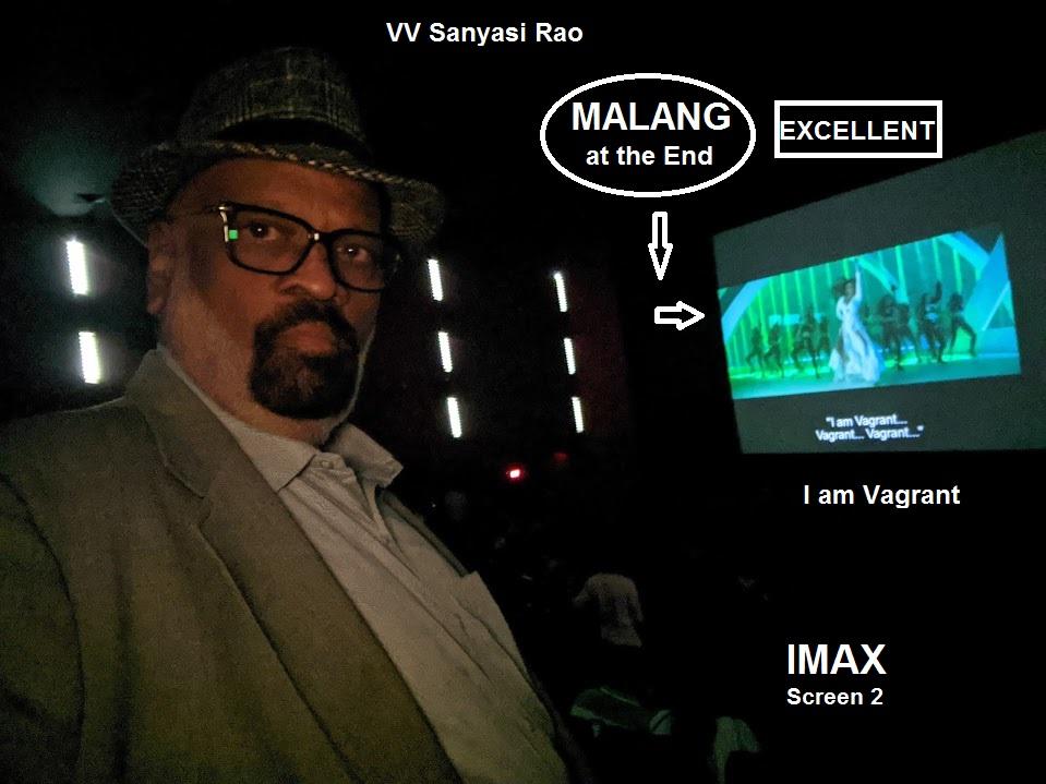 16 2 20: Seen very good picture MALANG (Hindi) at IMAX pic.twitter.com/xEJapgMlgR