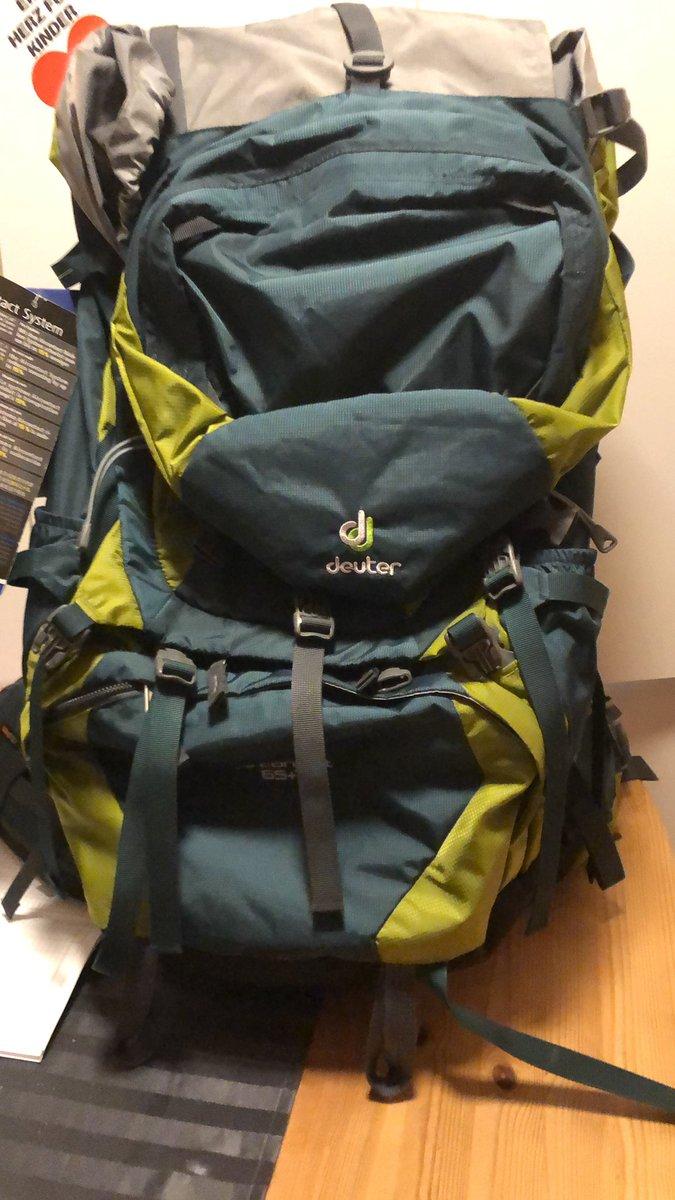 Mein erster Trekking Rucksack für Urlaub mit Sullipic.twitter.com/5veTDcbwJ2
