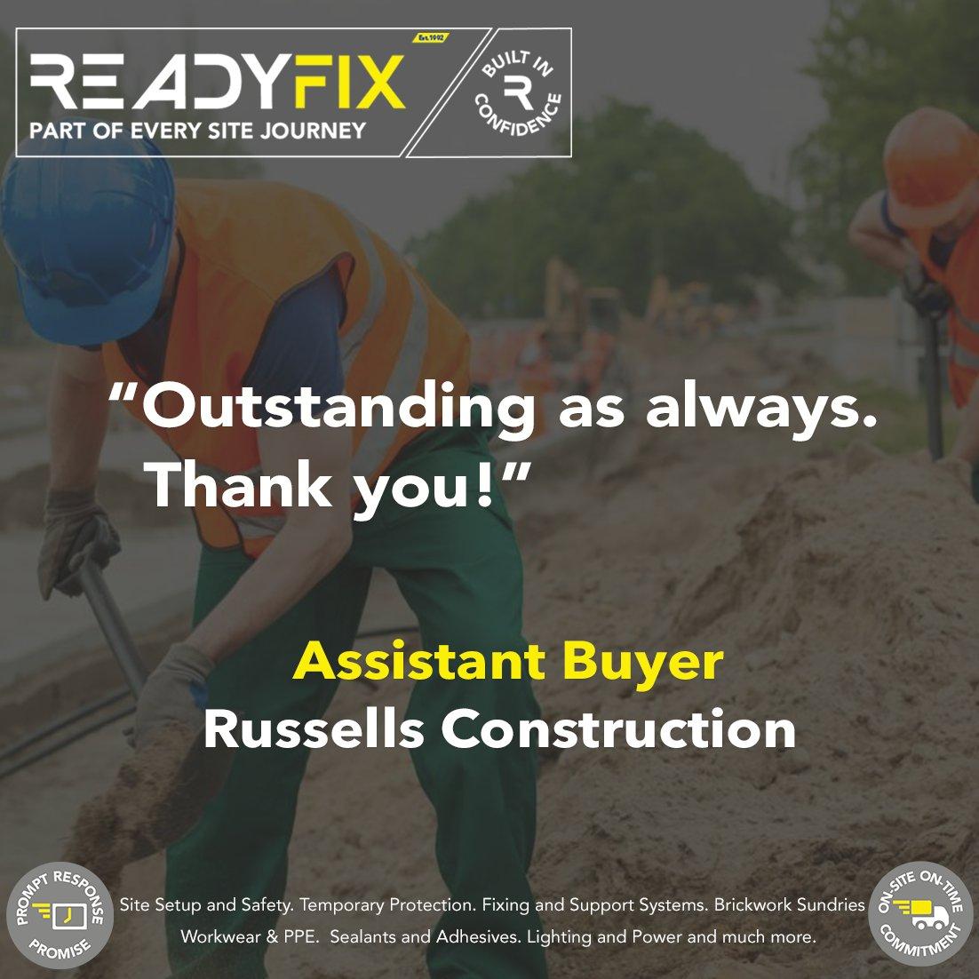 Readyfix, part of every site journey.  http://bit.ly/Readyfix  #construction #winter #sitemanagers #tradespeople #constructionuk #meettheteam #brand #northwest #readyfixpic.twitter.com/1BJGB8UCtE
