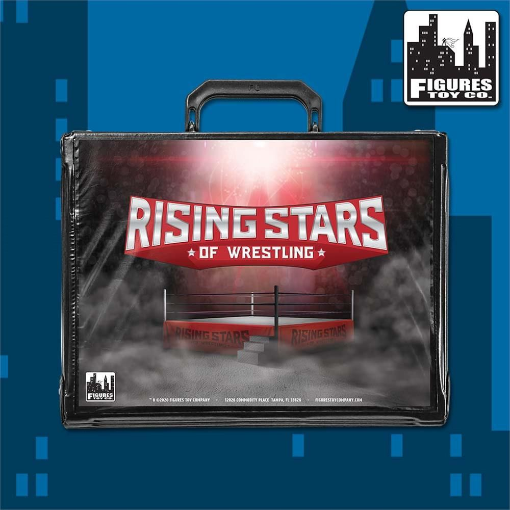 Need a new way to keep your wrestling figures safe and secure?  We're on the case!  Check out our new assortment of carrying cases, featuring the logos for each of our wrestling toy lines! #ROH #ftctoys #figlife #RisingStars #Legends @FullyPoseable http://wrestlingsuperstore.com