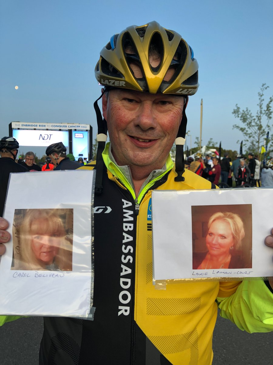 """""""I'm the kind of person who likes to fix things, but these difficult diagnoses were not something I could fix."""" Says Brian Kiely.    To Ride with Brian in 2020, click https://t.co/F1tKv9pxzc !  #TheRideAB #conquercancer  @albertacancer https://t.co/YRdJMZK4BJ"""