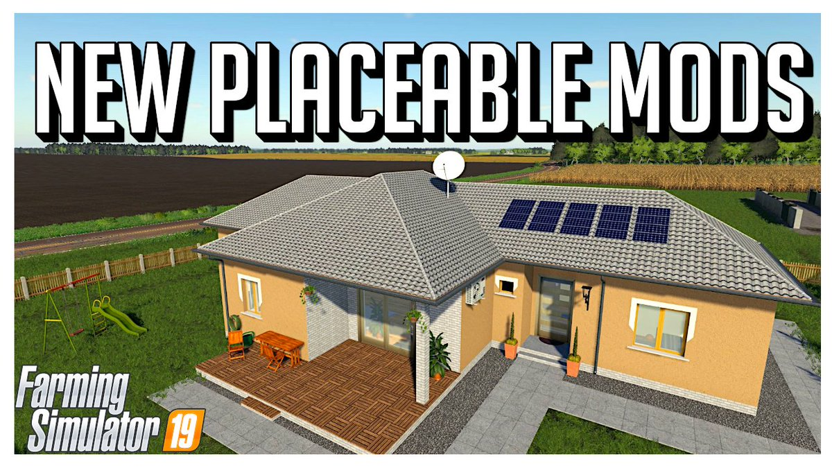 Come check out the new house placeables for Farming Simulator. https://youtu.be/qHlnsk99Sws pic.twitter.com/BydJTXYT1y