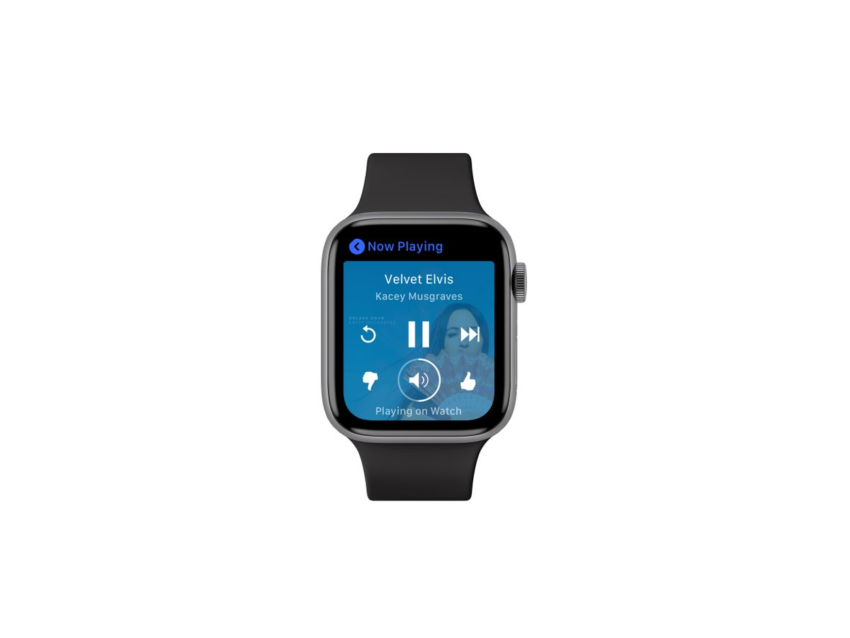 Pandora's new Apple Watch app lets you leave your iPhone behind: by @sarahintampa
