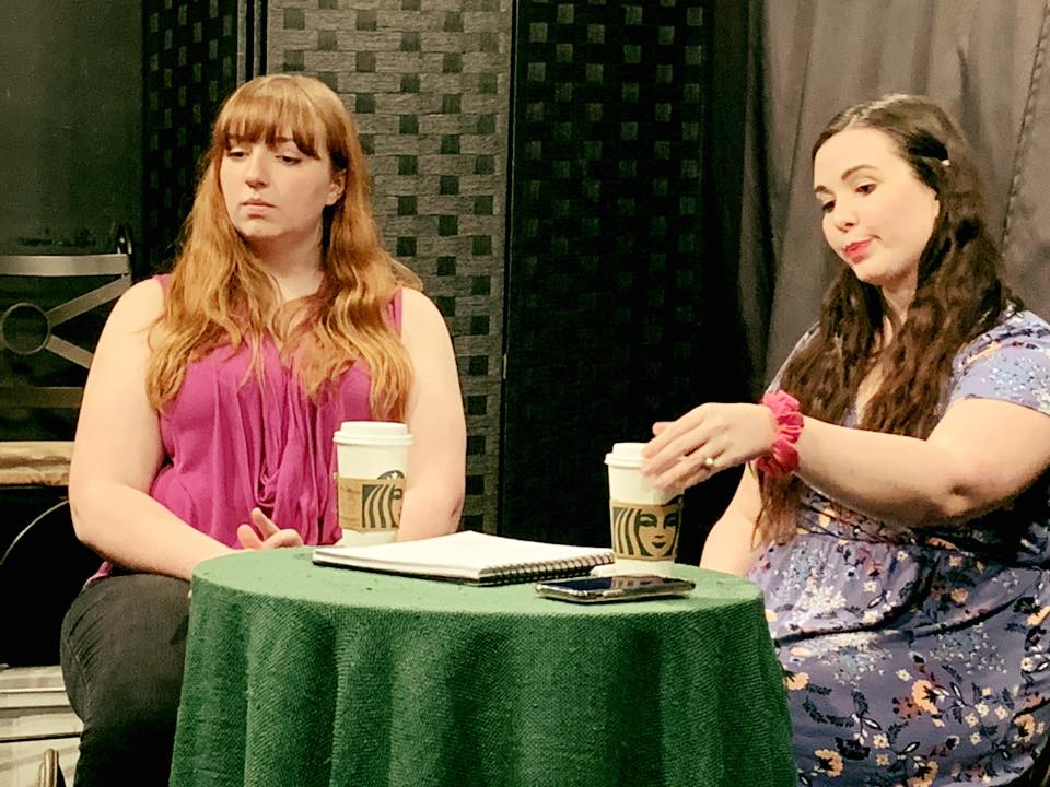 Awkward friend reunions! These lovely ladies are performing a scene from Where's My Money by John Patrick Shanley. . . #actorlife #actinglife #lpnstudios #improv #improvcomedy #actingclass #scenestudy #casting #risingstars