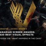 Image for the Tweet beginning: Celebrating this #CdnScreenAwards nomination in