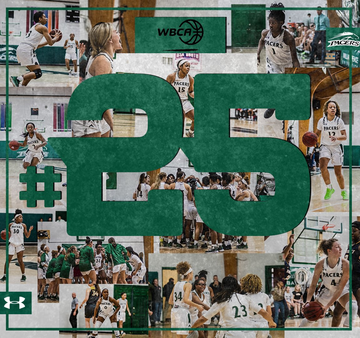 Women's Basketball checks in at #25 in the WBCA D3 Coaches Poll! 🐎🏀