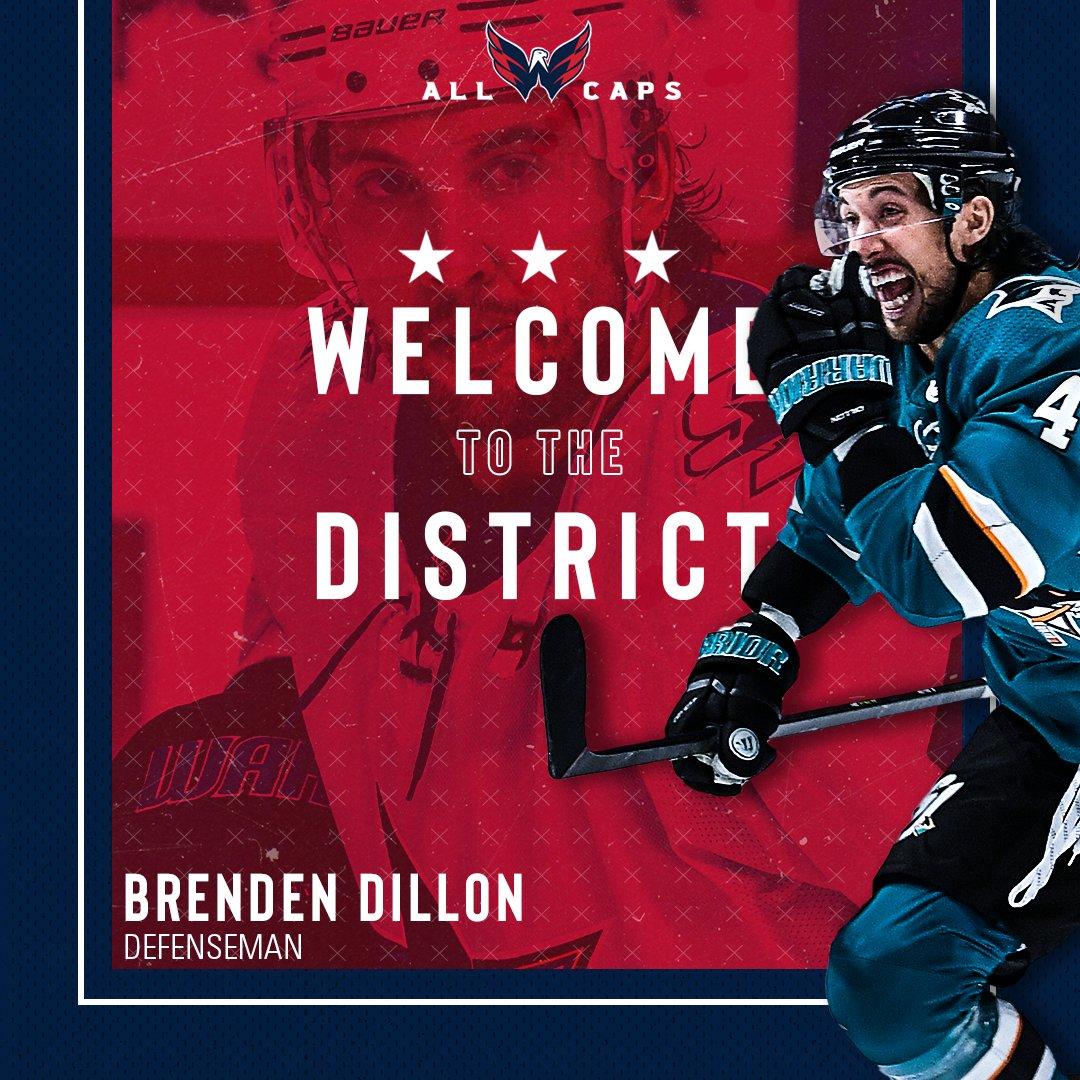 Brenden Dillon San Jose Sharks Player Swingman Jersey